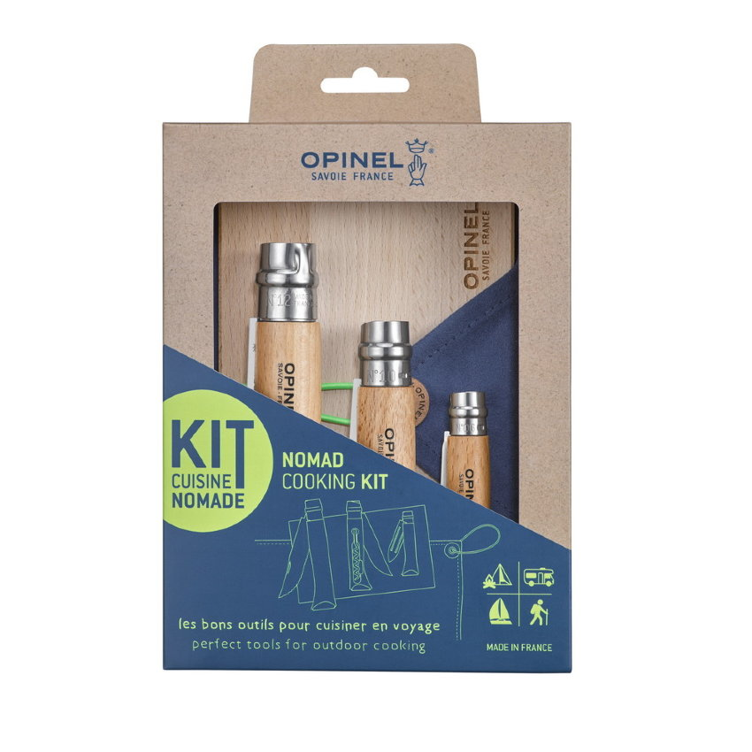 Набор 3-x ножей Opinel Outdoor cooking set